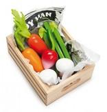 Le Toy Van Panier Légumes Frais du Marché en Bois de Toy Van/ Wooden Vegetables Toys