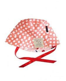 SS17 Chapeau Réversible Alice et Simone Gouttes Corail et Cygnes /Summer Hat