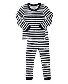 SS17 Pyjama 2 Pièces Lignés de Coccoli/ Cotton 2 Pieces