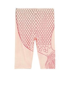 Legging Sirène avec Écailles Multicolores de BillieBlush/Mermaid Legging