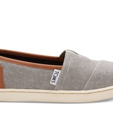 SS17 Chaussures Toms Shoes - Classic Frost Grey Chambray Pu