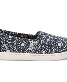 SS17 Chaussures Toms Shoes - Classic Navy Shibori Dots