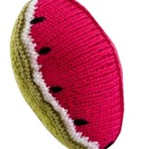 Pebble Hochet en Tricot Melon / Watermelon Rattle