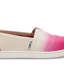 SS17 Chaussures Toms Shoes - Fuchsia Dip Dye