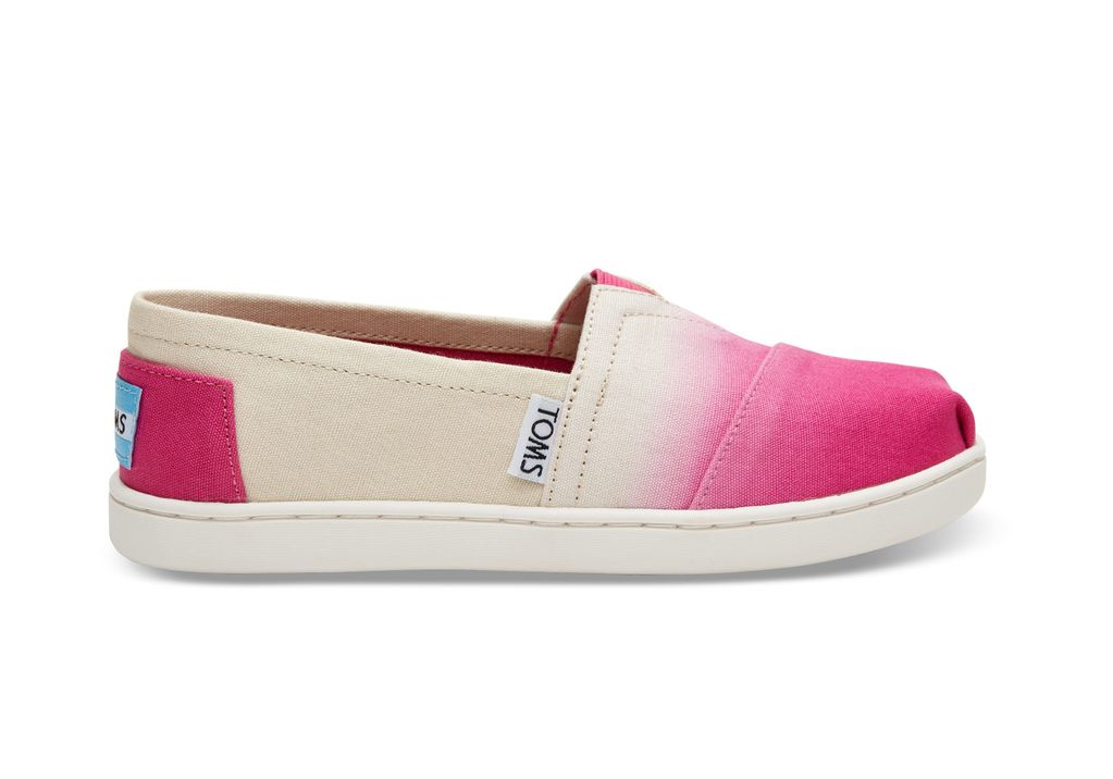 TOMS SS17 Chaussures Toms Shoes - Fuchsia Dip Dye
