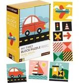 Petit Collage Casse-Tête Blocs BeepZoom de Petit Collage/ Beep Zoom My First Block Puzzle