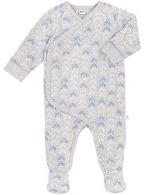 SS17 Pyjama Géométrique Bleu de Petit Lem / Baby Sleeper Knit