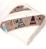Oko Créations Serviette à capuchon pour bébés Biologique-Petit Village Oko créations