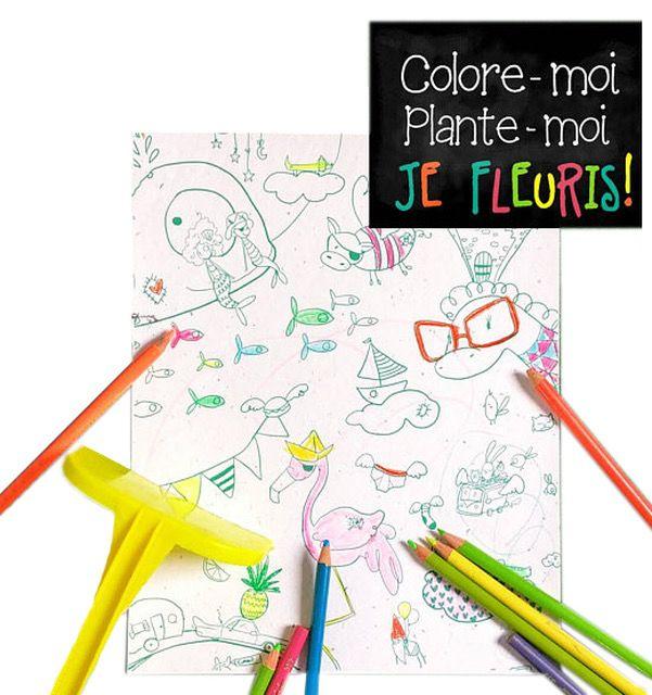 Rue Tabaga Coloriage Magique Chats de Rue Tabaga /Magic Blooming Paper
