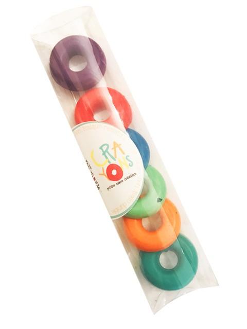 Rue Tabaga Crayons Anneaux Cire de Rue Tabaga / Easy Grip Crayons