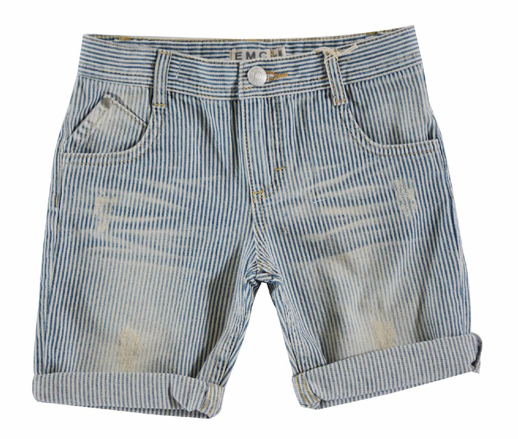 EMC SS17 Short Denim Ligné EMC / Shorts