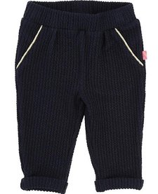 FW17 Pantalon Texturé Billieblush