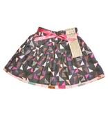 Alice et Simone FW17 Jupe Réversible Alice et Simone Triangle Gris et Gâteaux - Reversible Skirt