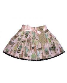 FW17 Jupe Réversible Alice et Simone Lama - Reversible Skirt