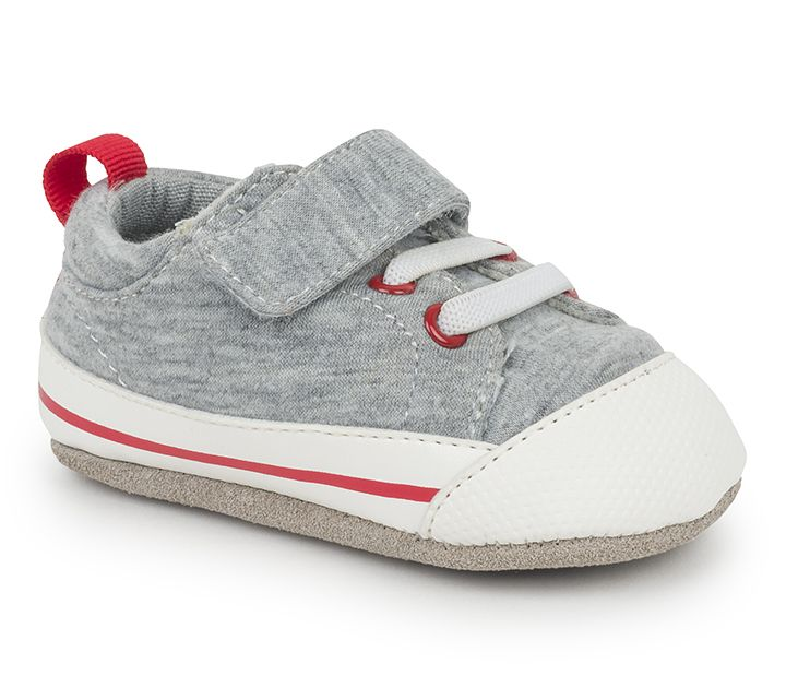 See Kai Run SS17 Souliers Bébé Stevie CRB Gray Jersey See Kai Run Shoes