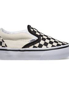 FW17 Souliers Checkerboard Vans B&W Slip-On