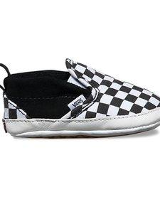 FW17 Souliers Bébé Checkerboard Crib Vans B&W Slip-On