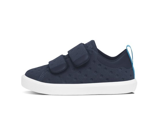 Native FW17 Souliers Native Monaco Velcro Child Regatta Blue/Shell White