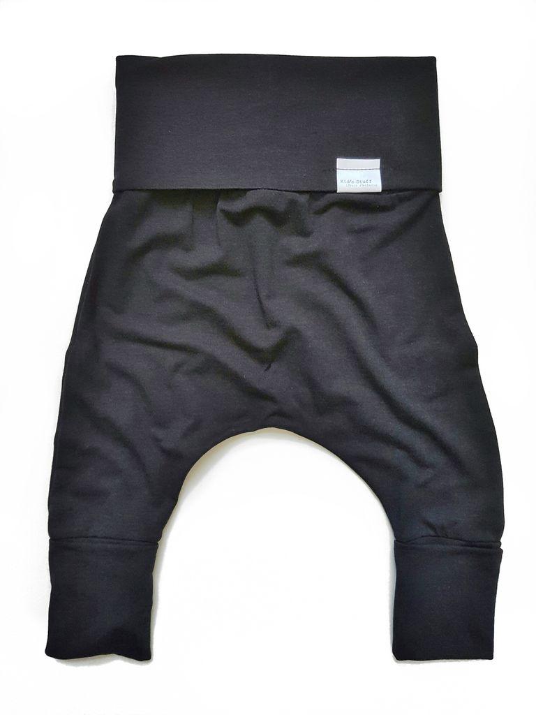 Kid's Stuff Pantalon Évolutif Kid's Stuff/ Evolutive Pants- 0M 6M-Noir