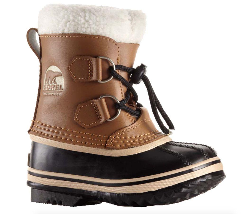 Sorel FW17 Bottes d'HIver Sorel Enfant/ Childrens Yoot Pac Nylon Mesquite Winter Boots