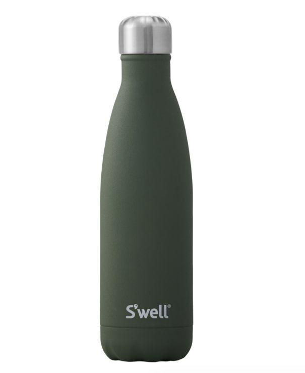 S'Well Bouteille S'well 500ml Vert Fonçé/ S'Well Bottle Green Jasper 17oz