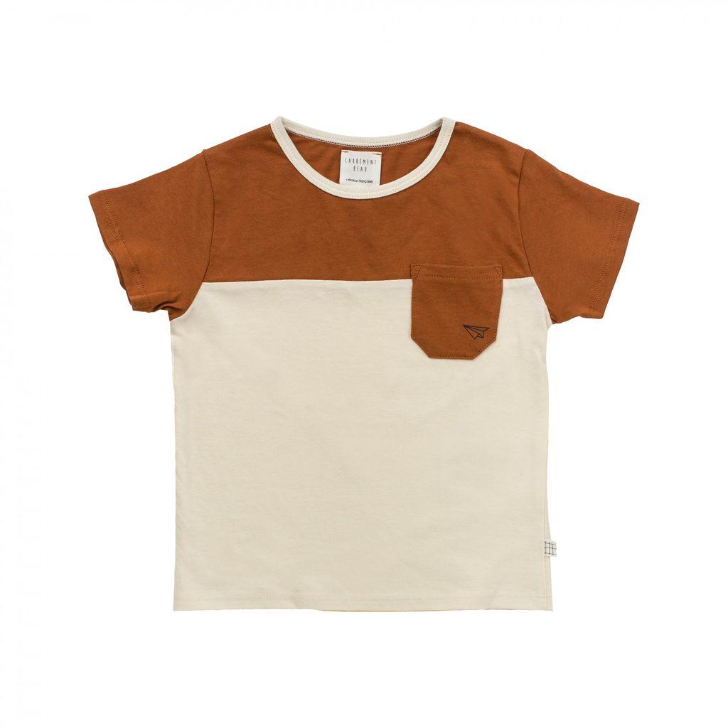 Carrément Beau SS18 Chandail Bicolore Carrément Beau/ Colorblock Tee-Shirt