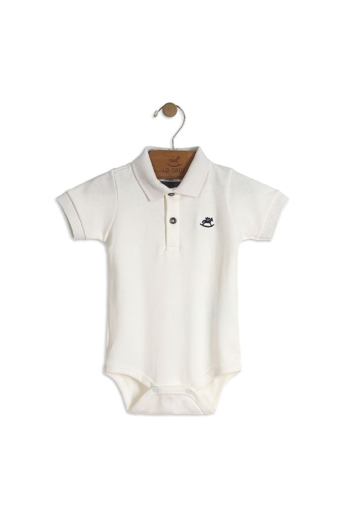 Up Baby SS18 Polo Bodysuit de Up Baby