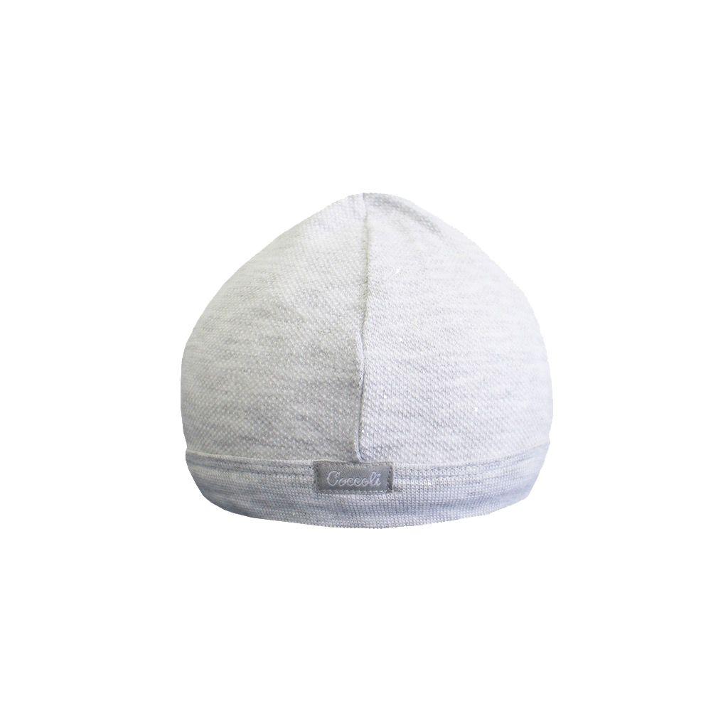 Coccoli SS18 Bonnet de Naissance Coccoli / Cotton Cap
