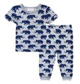 Coccoli SS18 Pyjama 2 Pièces à Motifs Éléphants / Cotton Pyjama Coccoli