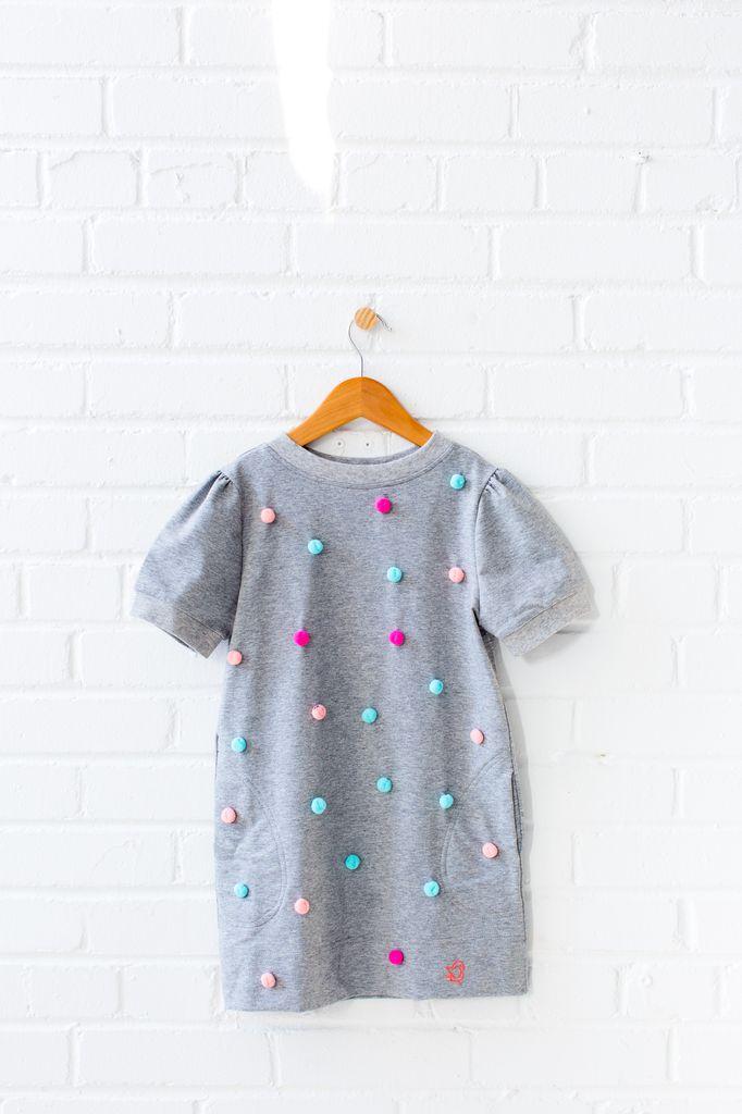 Birdz SS18 Robe Pompon Birdz / Pompom Dress