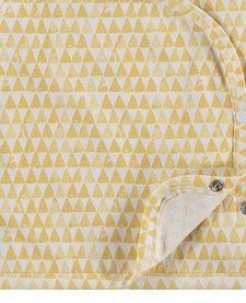 SS18 Chandail Cache-Coeur À Motifs Triangles