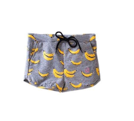 Birdz SS18 Shorts avec Motifs de Bananes de Birdz