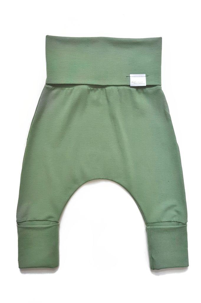 Kid's Stuff Pantalon Évolutif Kid's Stuff/ Evolutive Pants- 0M 6M-Vert Olive