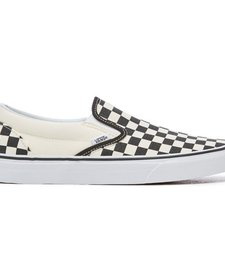 SS18 Souliers Checkerboard Vans B&W Slip-On