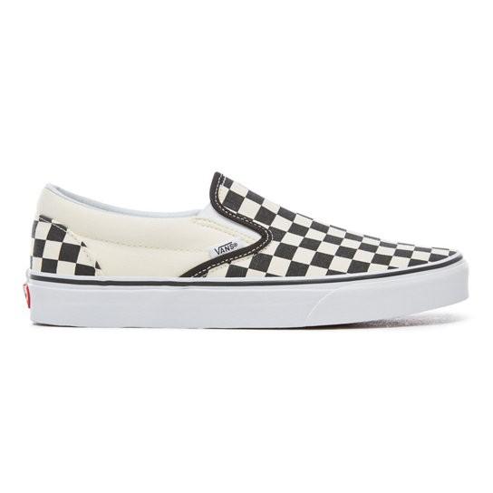 Vans Souliers Checkerboard Vans B&W Slip-On