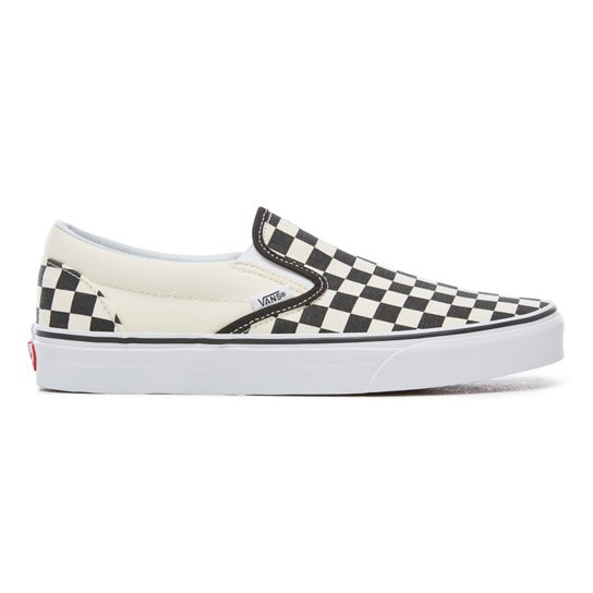 Vans SS18 Souliers Checkerboard Vans B&W Slip-On