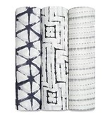 Aden & Anais Couverture d'emmaillotage en bambou Aden & Anais Pebble Shibori Bamboo Swaddle (3 Pack)