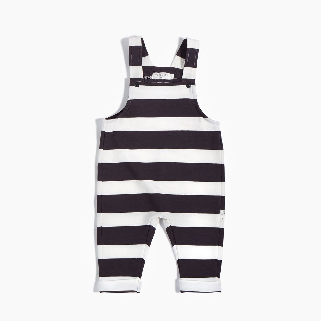 Miles Baby SS18 Salopette Tricot Rayée de Miles Baby
