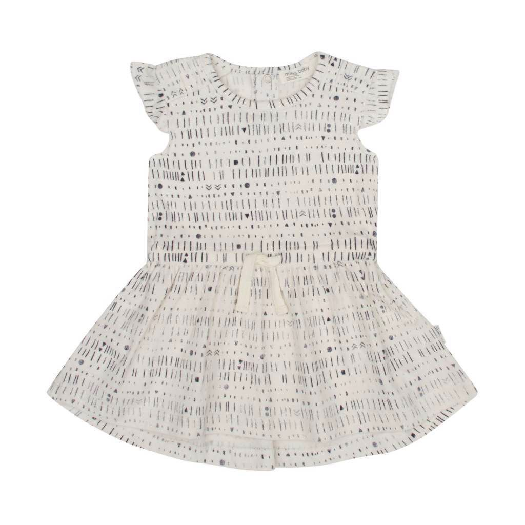 Miles Baby SS18 Robe Tricot Miles To Go de Miles Baby