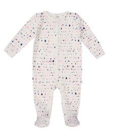SS18 Pyjama Une Pièce Coton Bio Petit Lem Waterdrop One Piece