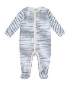 SS18 Pyjama Une Pièce Coton Bio Petit Lem Striped One Piece