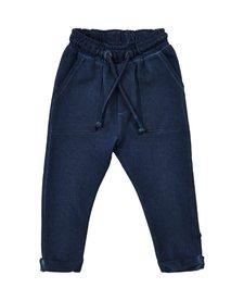 SS18 Pantalon en Coton à Taille Ajustable de Minymo