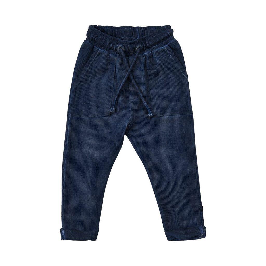 Minymo SS18 Pantalon en Coton à Taille Ajustable de Minymo