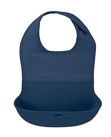 Bavette Roll Up Oxo Tot/ Bib-Navy