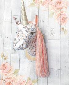 Licorne Assortis Tissu Imprimés Mukki