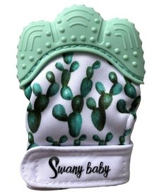 Mitaines de Dentition Cactus Swany Baby Teething Mitten Cactus