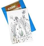 Rue Tabaga Coloriage Magique Jardin de Rue Tabaga /Magic Blooming Paper