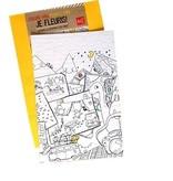 Rue Tabaga Coloriage Magique Camping de Rue Tabaga /Magic Blooming Paper