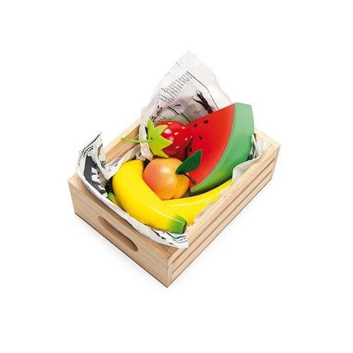 Le Toy Van Panier Fruits Frais du Marché en Bois de Toy Van/ Wooden Fruits Toys