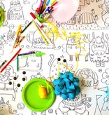 Rue Tabaga Coloriage Géant Les Petits Monstres de Rue Tabaga (92/165cm)/Giant Coloring Poster My Little Monsters
